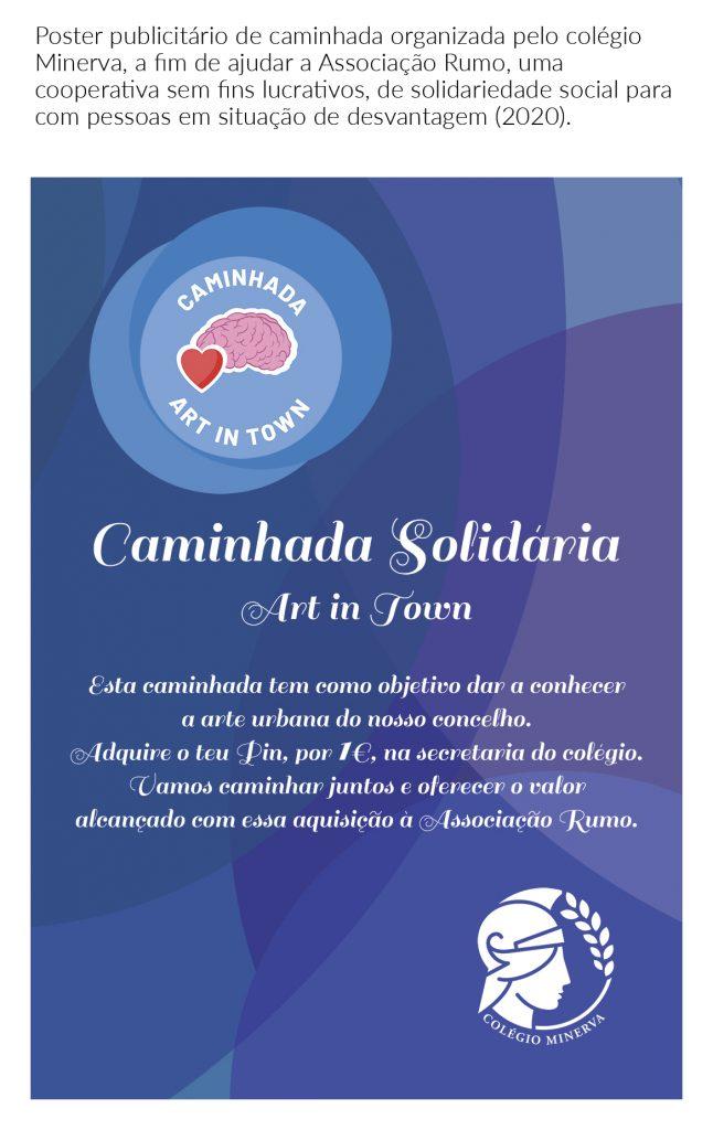 Poster Caminhada Solitária Associação Rumo