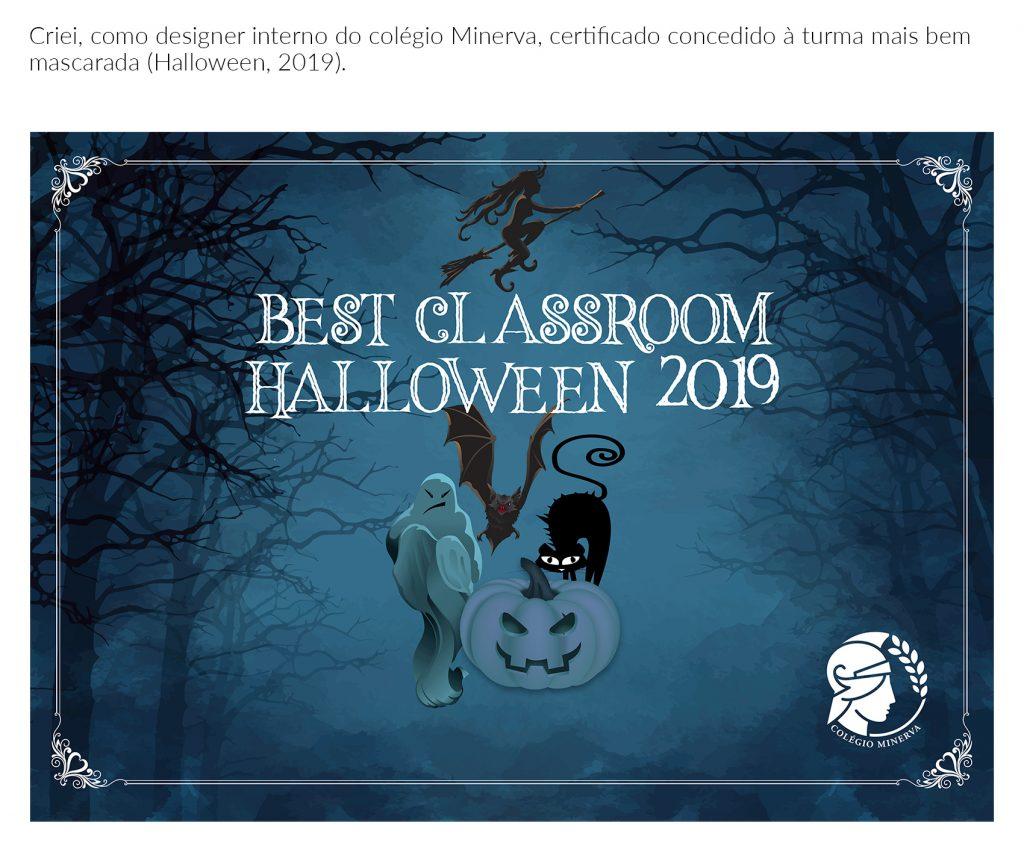 Certificado Halloween